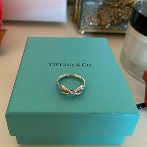 Tiffany Infinity Ring size 6